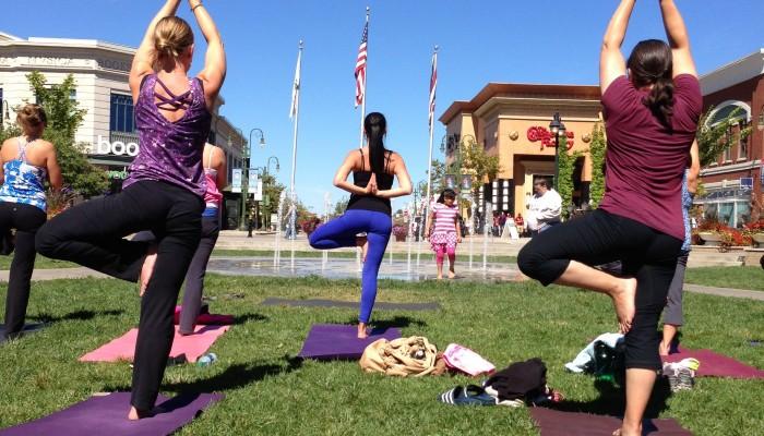 Yoga at the Greene