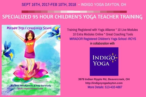Melbourne 3 Day Kids Yoga Teacher Training July 2018
